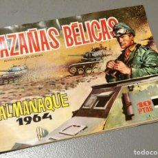 Militaria: NUMULITE * ALMANAQUE 1964 HAZAÑAS BÉLICAS REVISTA PARA NIÑOS. Lote 204850487