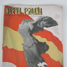Militaria: REVISTA NUEVA ESPAÑA Nº 18 - NÚMERO EXTRAORDINARIO, LA LIBERACIÓN DE CATALUÑA - AÑO 1940. Lote 205009122