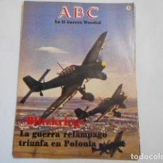Militaria: ABC LA SEGUNDA GUERRA MUNDIAL-Nº 3-BLITZKRIEG. Lote 205293573