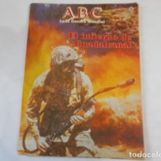 Militaria: ABC LA SEGUNDA GUERRA MUNDIAL-Nº 35-EL INFIERNO DE GUADALCANAL. Lote 205294570