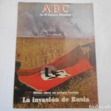 Militaria: ABC LA SEGUNDA GUERRA MUNDIAL-Nº 21 HITLER ABRE SU PROPIA TUMBA. Lote 205298313