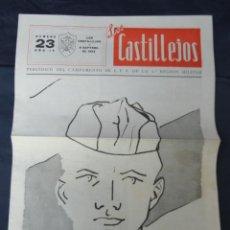 Militaria: PERIÓDICO LOS CASTILLEJOS.. Lote 205590477