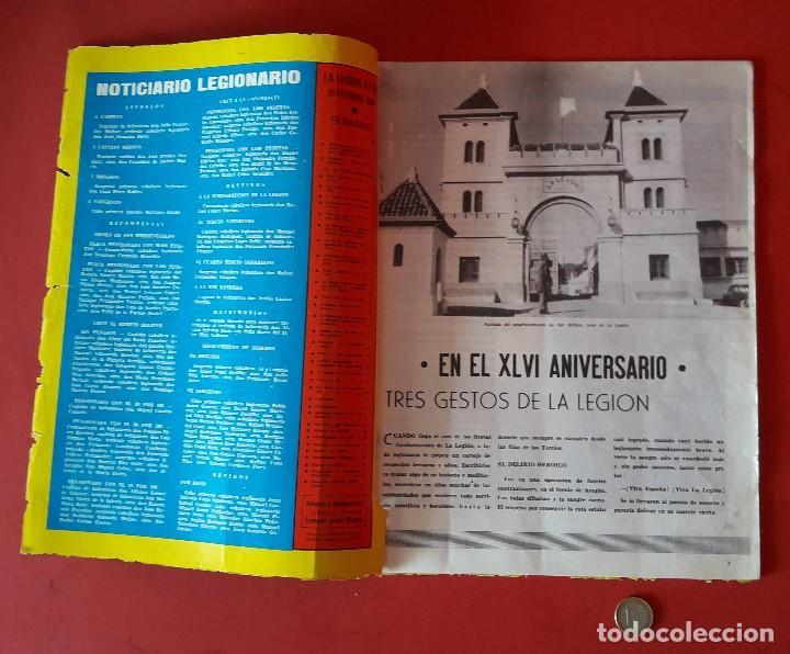 Militaria: LA LEGION ,REVISTA LEGIONARIA, XLVI ANIVERSARIO , SEPTIEMBRE 1966 - Foto 2 - 205874980
