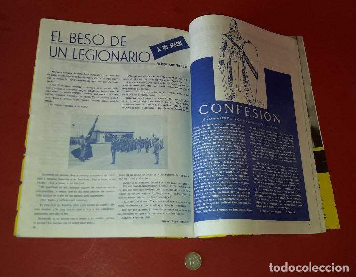 Militaria: LA LEGION ,REVISTA LEGIONARIA, XLVI ANIVERSARIO , SEPTIEMBRE 1966 - Foto 3 - 205874980