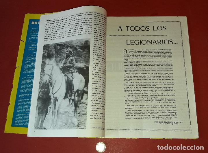 Militaria: LA LEGION ,REVISTA LEGIONARIA, XLVI ANIVERSARIO , SEPTIEMBRE 1966 - Foto 5 - 205874980