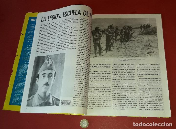 Militaria: LA LEGION ,REVISTA LEGIONARIA, XLVI ANIVERSARIO , SEPTIEMBRE 1966 - Foto 6 - 205874980