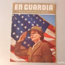 Militaria: EN GUARDIA PARA LA DEFENSA DE LAS AMÉRICAS AÑO 2, NÚMERO 12. Lote 206126817