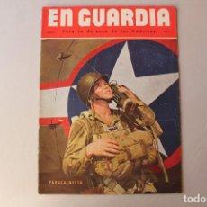 Militaria: EN GUARDIA PARA LA DEFENSA DE LAS AMÉRICAS AÑO 3, NÚMERO 3. Lote 206127176