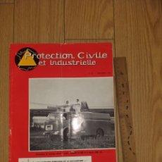 Militaria: 1963 PROTECTION CIVILE ET INDUSTRIELLE REVISTA CITROËN BOMBEROS N°114 MAGAZINE. Lote 206466148