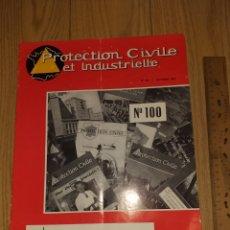 Militaria: 1962 PROTECTION CIVILE ESPECIAL SALON AUTOMOBIL CAMIONES BOMBEROS CITROËN RENAULT N°100. Lote 206469506