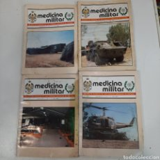 Militaria: REVISTAS MEDICINA MILITAR 87,91,93. Lote 206486791