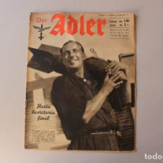 Militaria: DER ADLER, NÚMERO 18, 1941. Lote 206538310