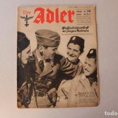 Militaria: DER ADLER, NÚMERO 4, 1941. Lote 206538796
