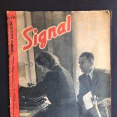 Militaria: REVISTA SIGNAL -1ª NUMERO AGOSTO - 1943 - Nº 15. Lote 207082051