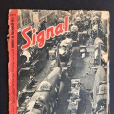Militaria: SIGNAL Nº 4 - DIVISION AZUL - 2º DE FEBRERO DE 1943.. Lote 207082436