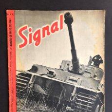 Militaria: SIGNAL - 2º NUMERO DE MAYO DE 1943 SP - Nº 10. Lote 207104855