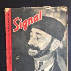 Militaria: REVISTA SIGNAL Nº 6 MARZO DE 1943.. Lote 207104945