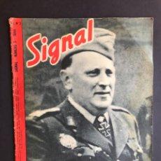 Militaria: ALEMANIA III REICH - REVISTA SIGNAL - EN CASTELLANO - Nº 3 - 1944.. Lote 207105557
