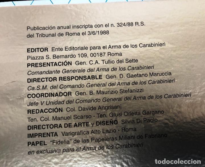 Militaria: Calendario Histórico del Arma de los Carabinieri año 2017. - Foto 13 - 207184236