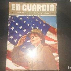 Militaria: EN GUARDIA - PARA LA DEFENSA DE LAS AMERICAS - AÑO 2 Nº 12 , REVISTA MILITAR , LEER DESCRIPCION. Lote 207353185