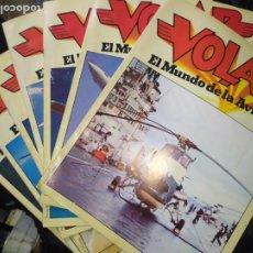Militaria: LOTE VOLAR EL MUNDO DE LA AVIACIÓN 19/21/22/23/24/29/33 / 1981. Lote 207650522