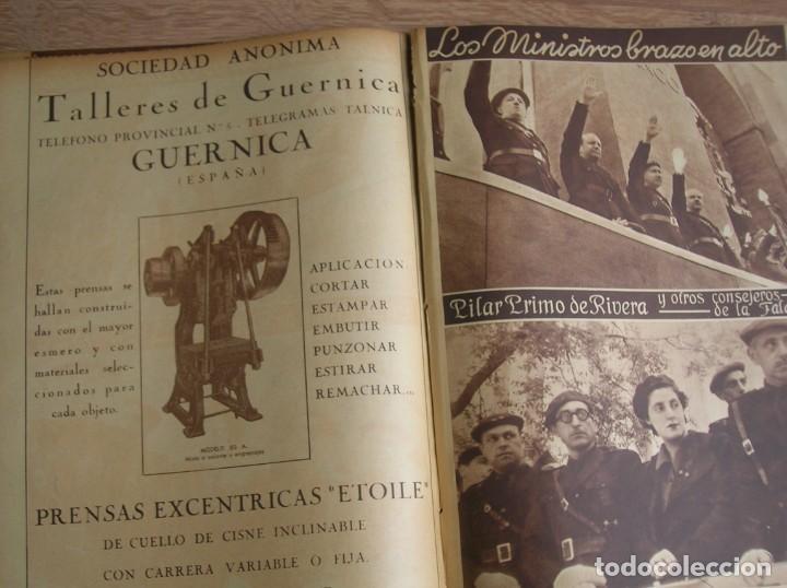 Militaria: REPORTAJE DEL DESFILE FRANQUISTA DE LA VICTORIA. 27 DE MAYO DE 1939. FRANCO. FALANGE.GUERRA CIVIL - Foto 12 - 207757718