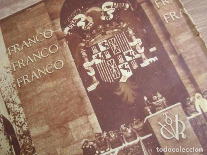Militaria: REPORTAJE DEL DESFILE FRANQUISTA DE LA VICTORIA. 27 DE MAYO DE 1939. FRANCO. FALANGE.GUERRA CIVIL - Foto 3 - 207757718