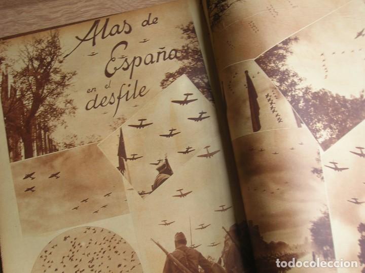 Militaria: REPORTAJE DEL DESFILE FRANQUISTA DE LA VICTORIA. 27 DE MAYO DE 1939. FRANCO. FALANGE.GUERRA CIVIL - Foto 15 - 207757718