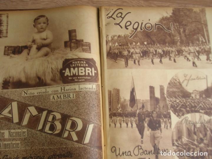 Militaria: REPORTAJE DEL DESFILE FRANQUISTA DE LA VICTORIA. 27 DE MAYO DE 1939. FRANCO. FALANGE.GUERRA CIVIL - Foto 16 - 207757718