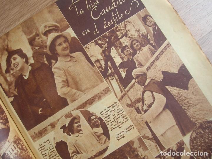 Militaria: REPORTAJE DEL DESFILE FRANQUISTA DE LA VICTORIA. 27 DE MAYO DE 1939. FRANCO. FALANGE.GUERRA CIVIL - Foto 18 - 207757718