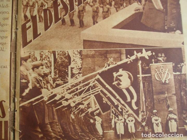Militaria: REPORTAJE DEL DESFILE FRANQUISTA DE LA VICTORIA. 27 DE MAYO DE 1939. FRANCO. FALANGE.GUERRA CIVIL - Foto 20 - 207757718