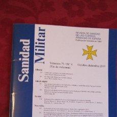 Militaria: REVISTA SANIDAD MILITAR Nº 4 VOLUMEN 75. Lote 207760286
