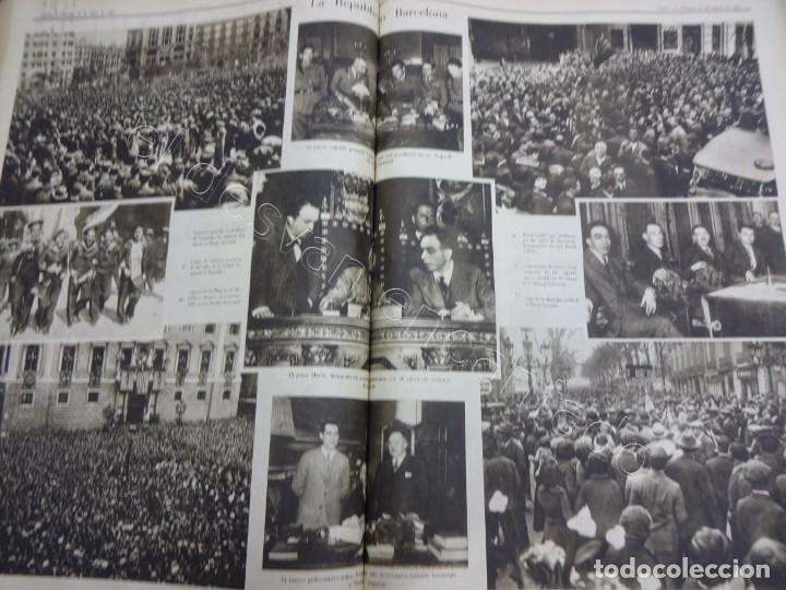 Militaria: Notas Gráficas de LA VANGUARDIA. Tomo gran formato. Año 1931. República. COMPLETO - Foto 5 - 207823011
