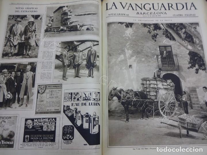 Militaria: Notas Gráficas de LA VANGUARDIA. Tomo gran formato. Año 1931. República. COMPLETO - Foto 9 - 207823011