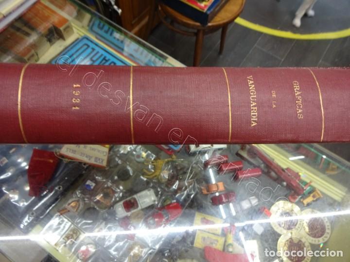 Militaria: Notas Gráficas de LA VANGUARDIA. Tomo gran formato. Año 1931. República. COMPLETO - Foto 12 - 207823011