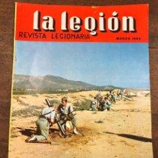 Militaria: REVISTA LEGIONARIA LA LEGION. Nº 81. MARZO 1965. Lote 208245993