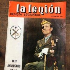 Militaria: REVISTA LEGIONARIA LA LEGION. Nº 75. SEPTIEMBRE 1964. Lote 208246166