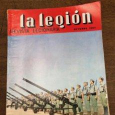 Militaria: REVISTA LEGIONARIA LA LEGION. Nº 76. OCTUBRE 1964. Lote 208246298