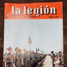 Militaria: REVISTA LEGIONARIA LA LEGION. Nº 93. MARZO 1966. Lote 208247660