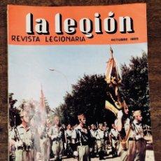 Militaria: REVISTA LEGIONARIA LA LEGION. Nº 88. OCTUBRE 1965. Lote 208248323