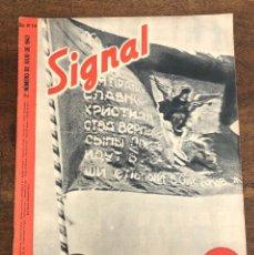 Militaria: REVISTA SIGNAL. Nº 14. 2º NUMERO DE JULIO DE 1943. EN ESPAÑOL. Lote 208367512