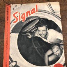 Militaria: REVISTA SIGNAL. Nº 19. 1º NUM. DE OCTUBRE DE 1941. EN ESPAÑOL. Lote 209103600