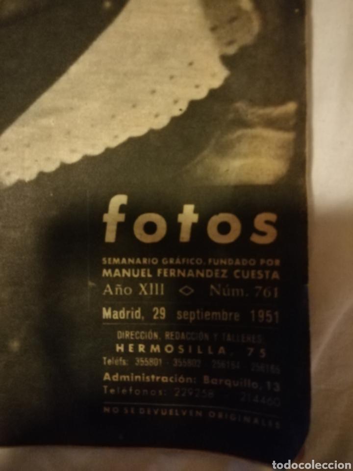 Militaria: Revista Fotos 29/09/1951 Francisco Franco - Foto 2 - 209368163