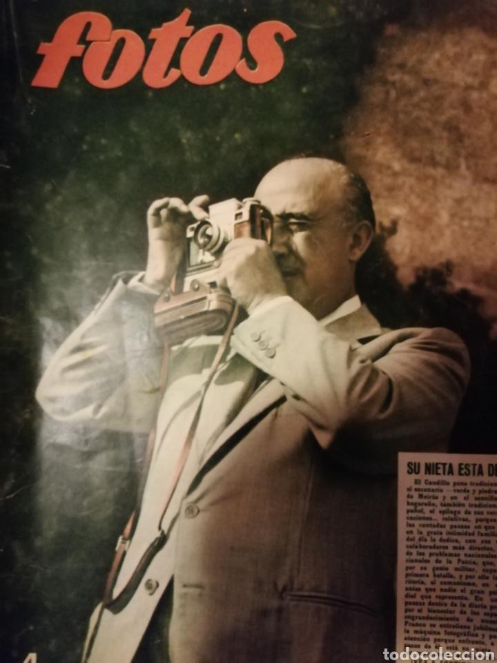 REVISTA FOTOS 29/09/1951 FRANCISCO FRANCO (Militar - Revistas y Periódicos Militares)