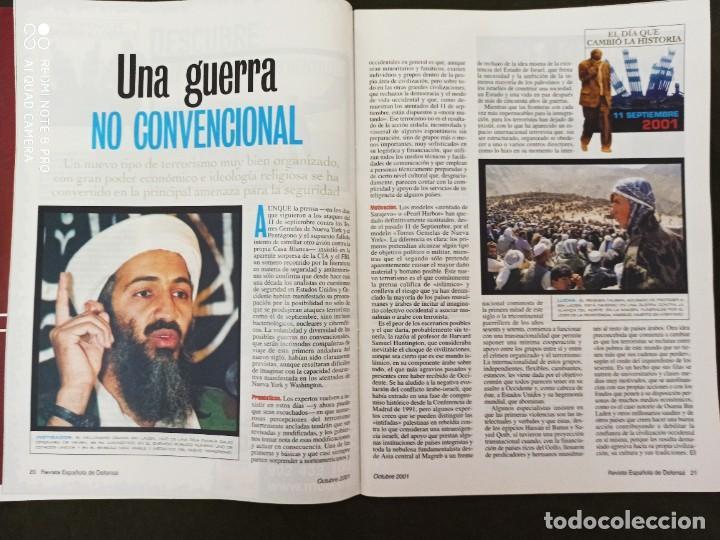 Militaria: REVISTA ESPAÑOLA DE DEFENSA. COALICIÓN INTERNACIONAL CONTRA EL TERRORISMO. Nº164 OCTUBRE 2001 - Foto 5 - 210459117