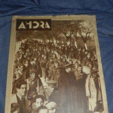 Militaria: (M) DIARIO AHORA AÑO I N.2 MADRID 1930 PORTADA LAS CONSECUENCIAS DE LA SUBLEVACION DE JACA. Lote 210628153