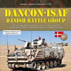 Militaria: TANKOGRAD DANCON-ISAF VEHICLES OF THE DANISH ISAF CONTINGENT IN AFGHANISTAN 2011. Lote 210788531