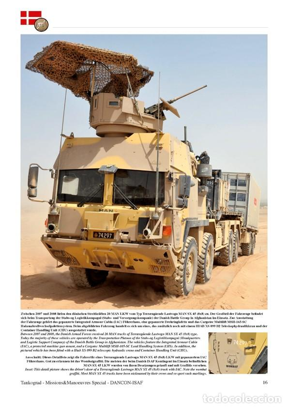 Militaria: Tankograd DANCON-ISAF Vehicles of the Danish ISAF Contingent in Afghanistan 2011 - Foto 2 - 210788531