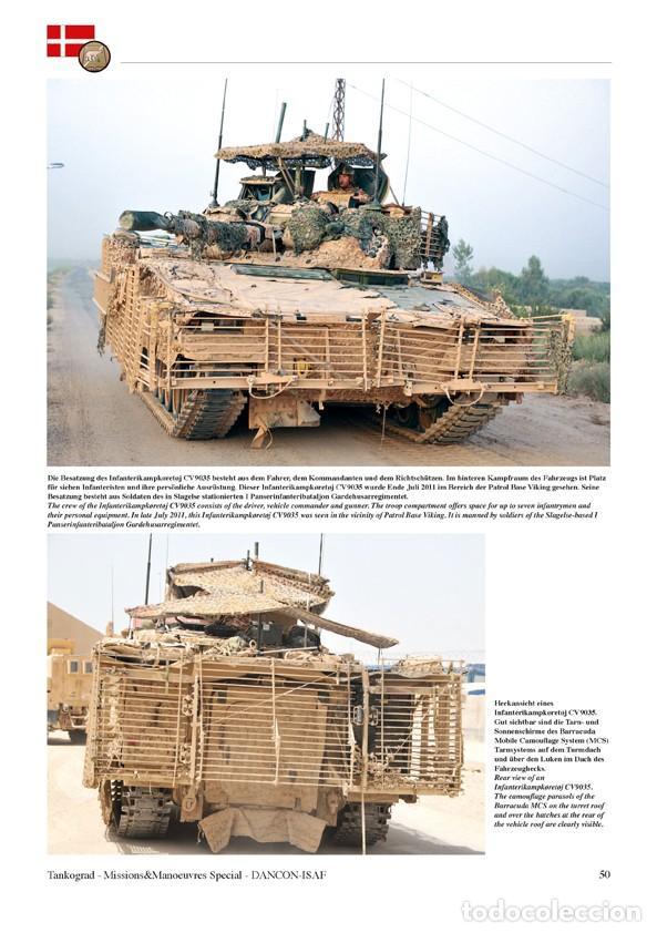 Militaria: Tankograd DANCON-ISAF Vehicles of the Danish ISAF Contingent in Afghanistan 2011 - Foto 4 - 210788531