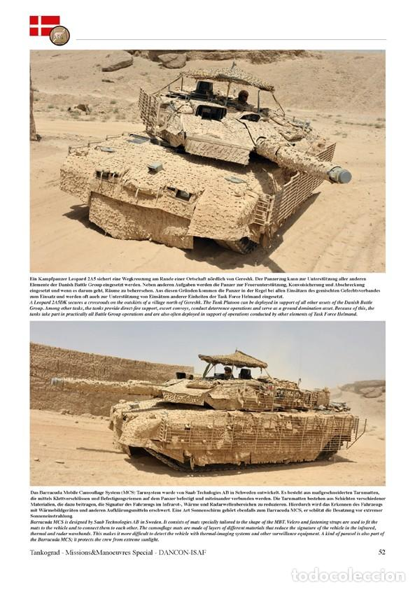 Militaria: Tankograd DANCON-ISAF Vehicles of the Danish ISAF Contingent in Afghanistan 2011 - Foto 5 - 210788531